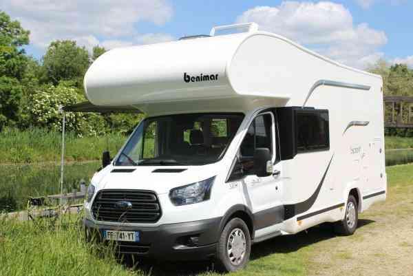 camping-car BENIMAR SPORT UP 340