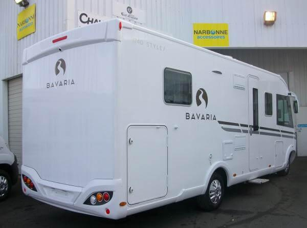 camping-car BAVARIA I 740 FC