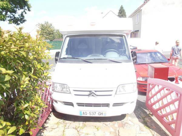 camping-car BURSTNER PRIVILEGE T615