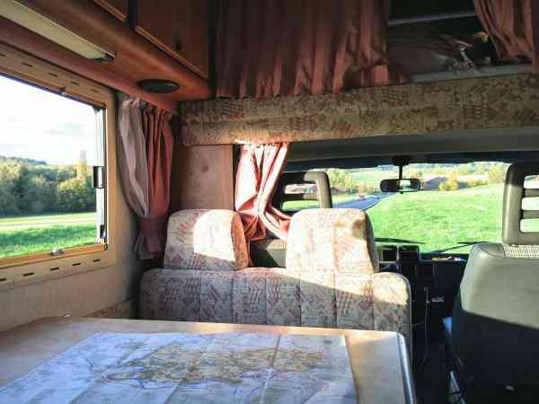 camping-car  HYMER CAMP 56