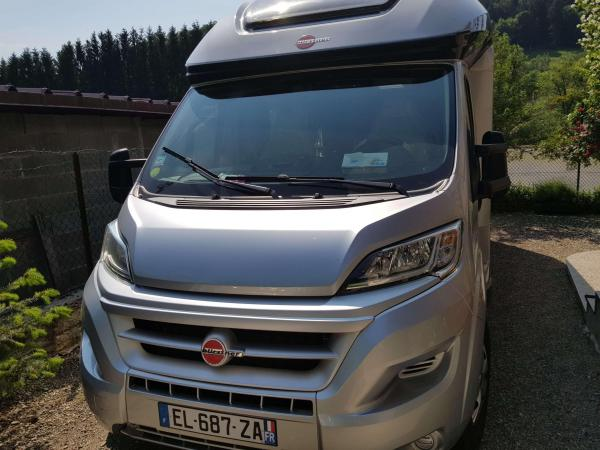 camping-car BURSTNER IXEO IT 734