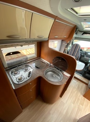 camping-car CHAUSSON ALLEGRO 97