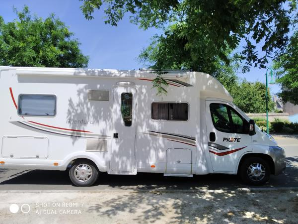 camping-car PILOTE AVENTURA P 716
