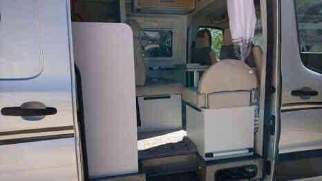 camping-car FONT VENDOME  FORTY VAN 4X4